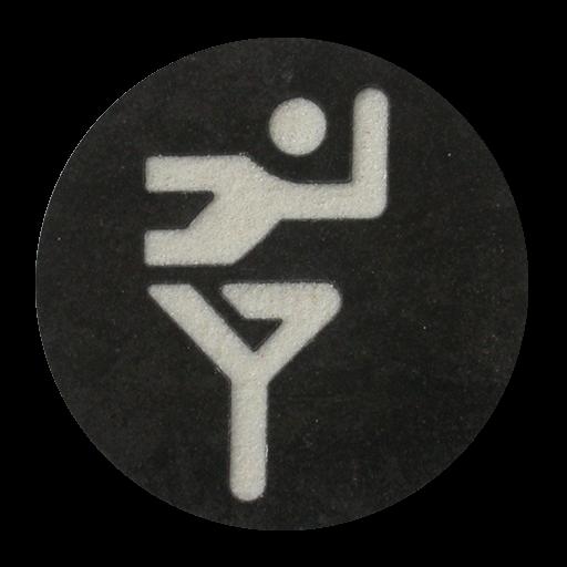 Laufen Piktogramm