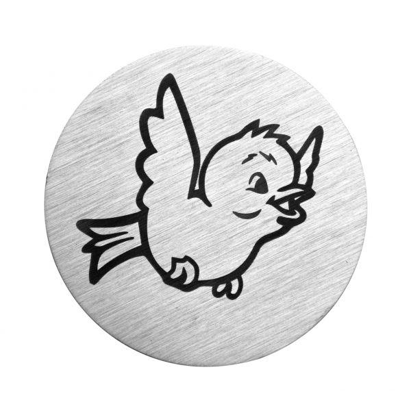 Vogel auf V2A