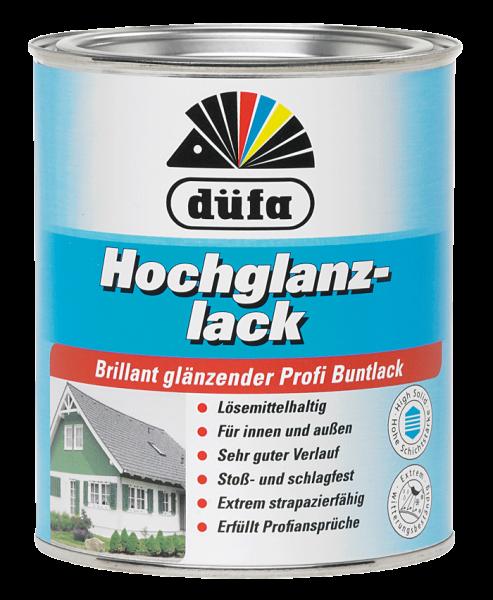 düfa Hochglanzlack Laubgrün RAL-6002 - Lack 0,75 Liter