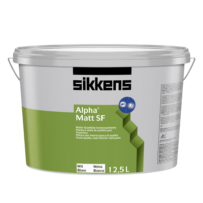 Sikkens Alpha Matt SF - Latexfarbe 12,5 Liter