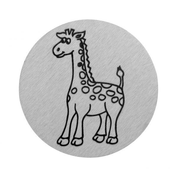 Giraffe auf V2A