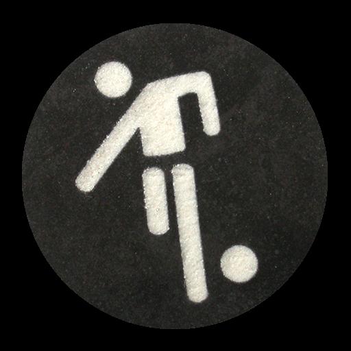 Fußball Piktogramm