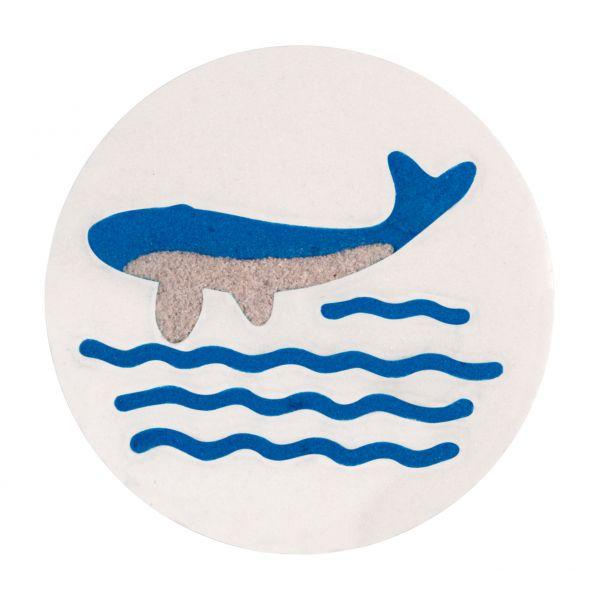 Wal mit Welle