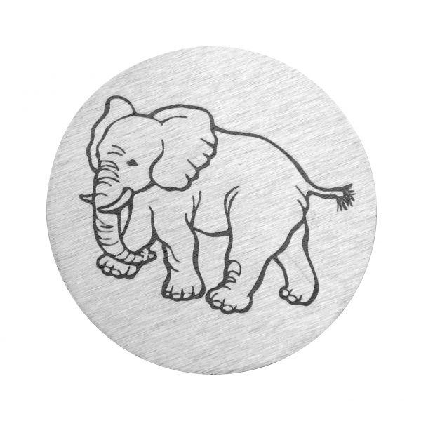 Elefant auf V2A
