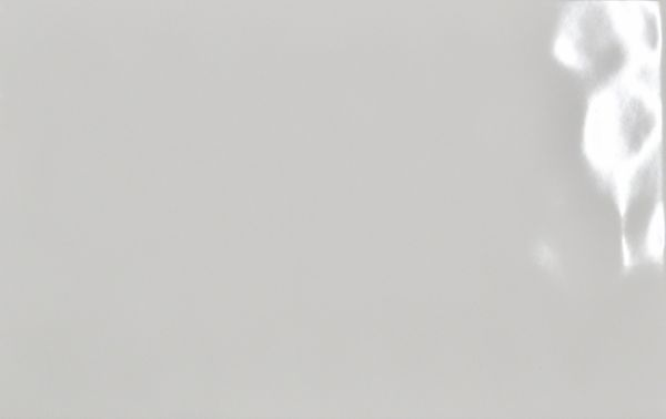 Weiß glänzend gewellt 25/40 cm - Muster