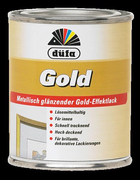 düfa Gold Effektlack - Lack 0,125 Liter