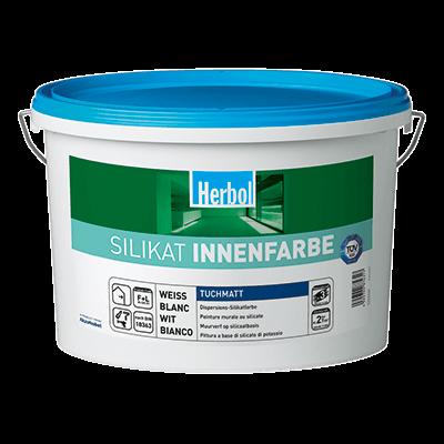 Herbol Silikat Innenfarbe - Silikatfarbe 5 Liter