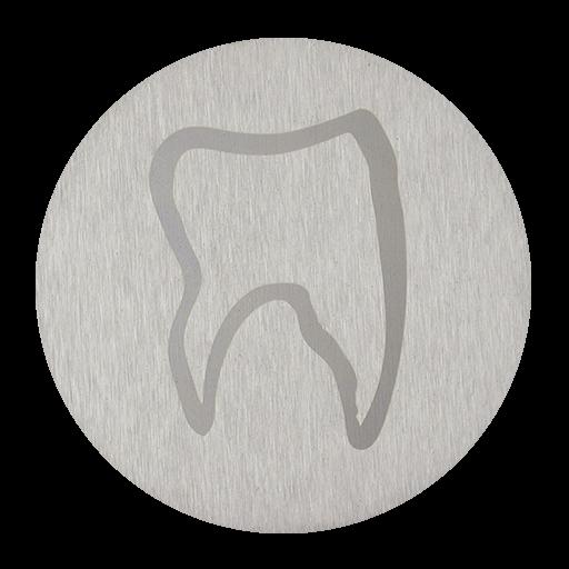 Zahn Kontur auf V2A