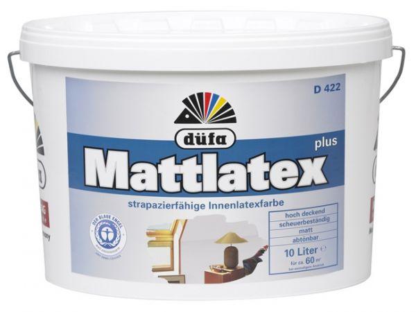 düfa D 422 Mattlatex Plus - Latexfarbe 10 Liter