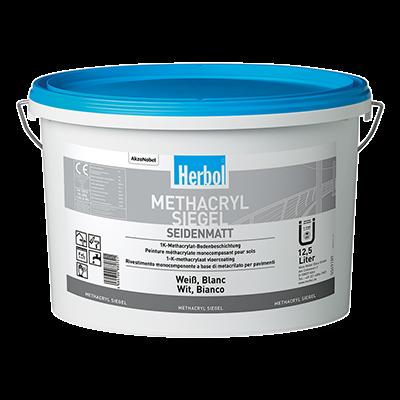 Herbol Methacryl Siegel Bodenfarbe versch. Farben 12,5 Liter