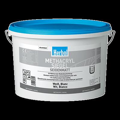 Herbol Methacryl Siegel Bodenfarbe versch. Farben 5 Liter
