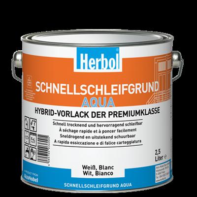 Schnellschleifgrund Aqua - Vorlack 0,75 Liter