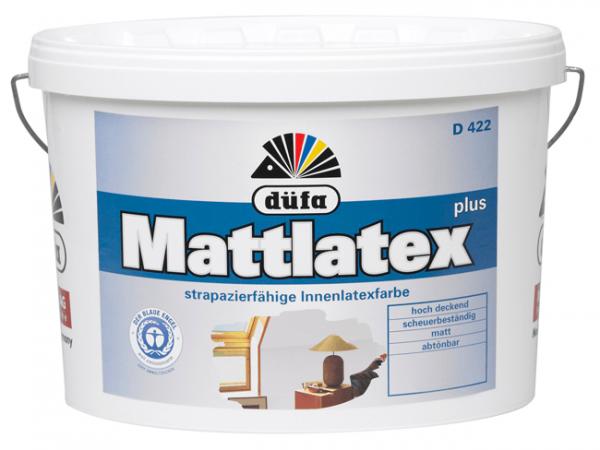 düfa D 422 Mattlatex Plus - Latexfarbe 2,5 Liter
