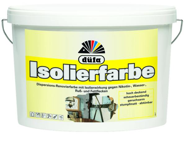 düfa Isolierfarbe weiß - Wandfarbe 2,5 Liter