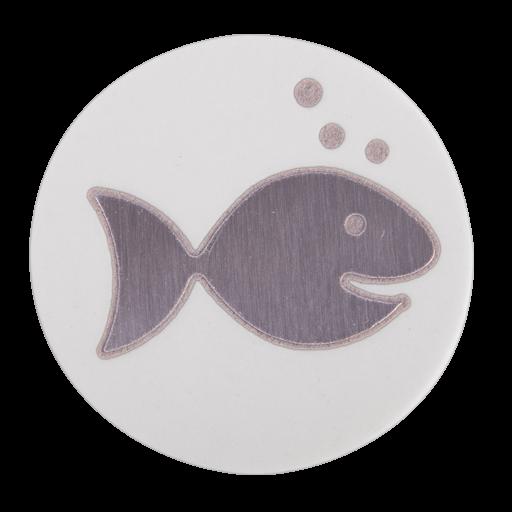 Nemo V2A in weiß poliert