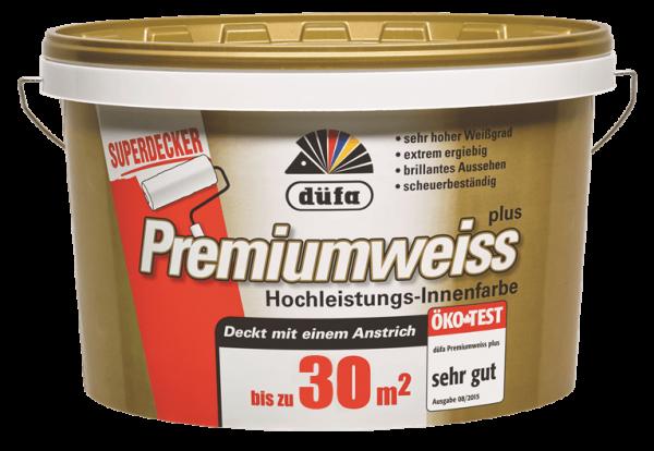 düfa Wandfarbe D 420 Premiumweiss plus 4 Liter