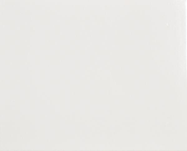 Weiß glänzend 20/25 cm - Muster
