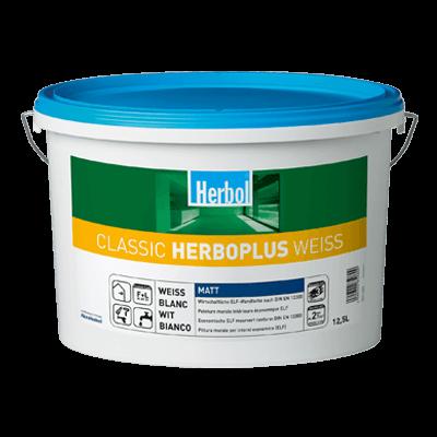 Herbol Wandfarbe Classic Herboplus Weiss 12,5 Liter