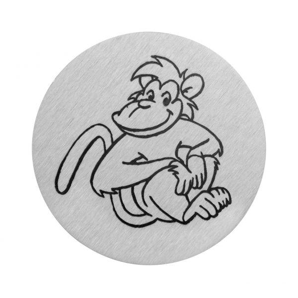 Affe auf V2A