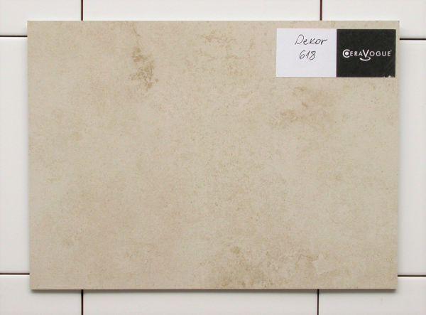 CeraCover Dekorplatte - Dekor 618 mediterran-beige