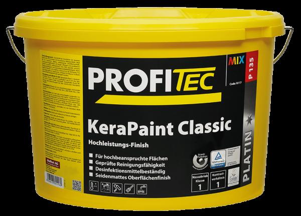 ProfiTec P135 KeraPaint Classic 5 Liter - Wandfarbe