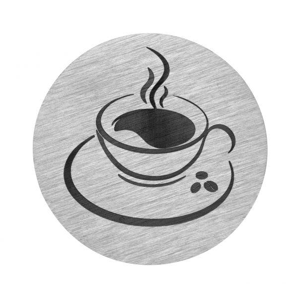 Kaffeetasse auf V2A