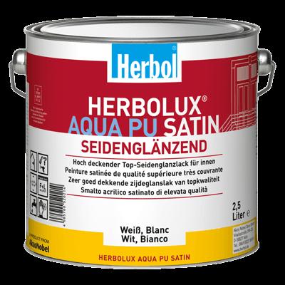 Herbolux Aqua PU Satin - Seidenglanzlack 0,375 Liter