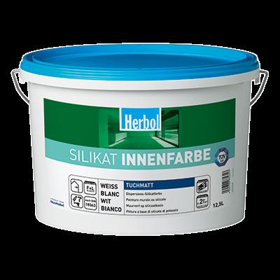 Herbol Silikat Innenfarbe - Silikatfarbe 12,5 Liter