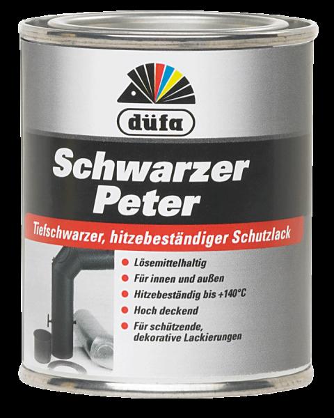 düfa Schwarzer Peter Schutzanstrich - Lack 0,125 Liter