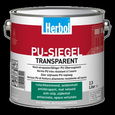 PU-Siegel Rutschhemmend - Klarlack 2,5 Liter