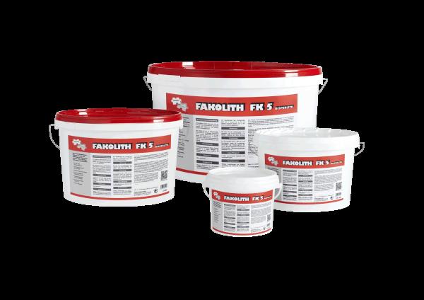 Fakolith FK 5 fungizid und bakterizid - Schimmelschutzfarbe 2,5 Liter