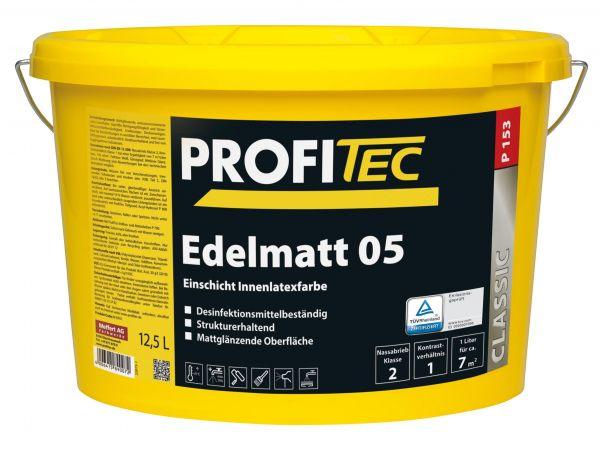 ProfiTec P 153 Edelmatt 05 - Latexfarbe 12,5 Liter