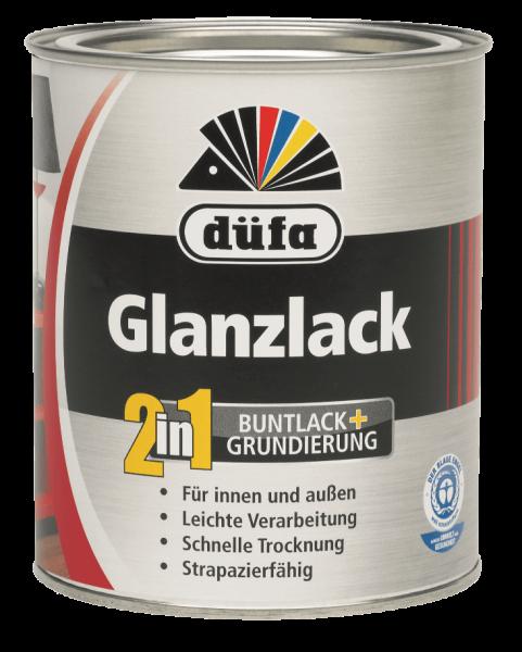 düfa 2 in 1 Glanzlack - Grundierung und Lack 2,5 Liter Weiß