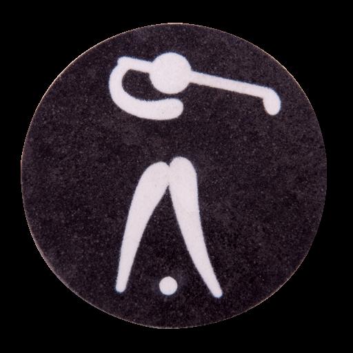 Golf - Frau - Piktogramm