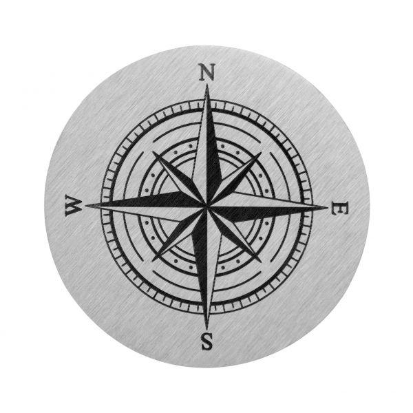Windrose mit Kompass